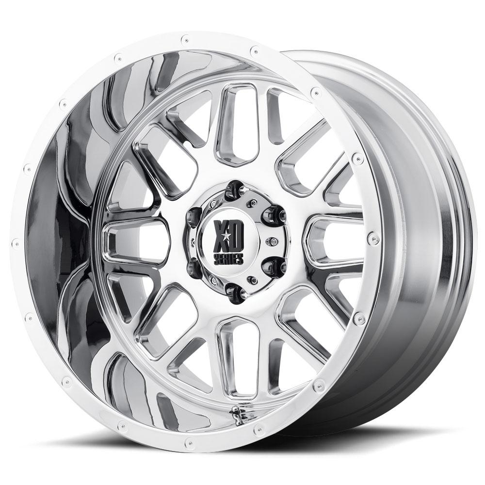Ford F150 Rims >> XD Series Grenade XD820 18X8 Chrome | Tyres Gator
