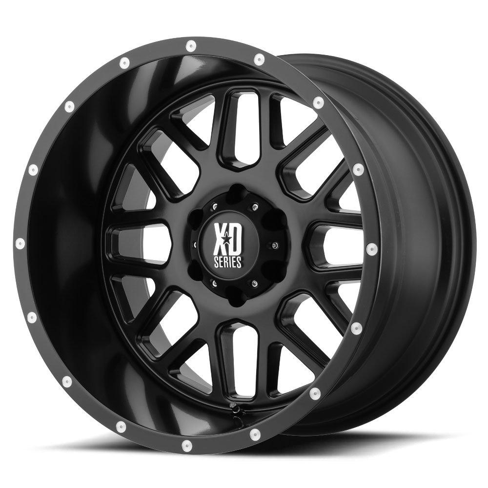 Xd Series Grenade Xd820 17x8 5 Satin Black Tyres Gator