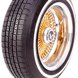 Sure-Trac White Wall 205/75R14