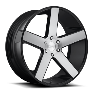 DUB Wheels Baller 28X10 Brushed Gloss Black