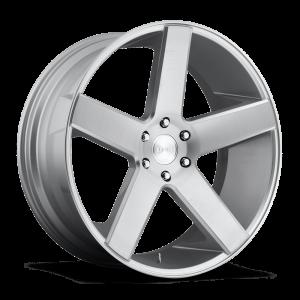 DUB Wheels Baller 26X10 Silver Machined
