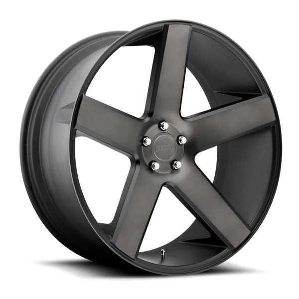 DUB Wheels Baller 24X10 Black Machined Dark Tint