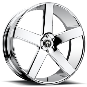 DUB Wheels Baller 24X10 Chrome