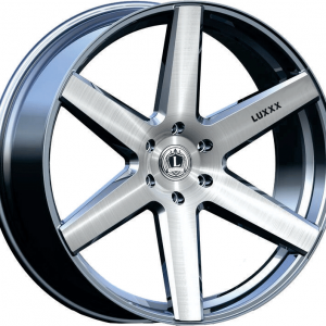 Luxxx Wheelas Lux 20 24X9.5 Silver Machined Face
