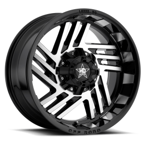 Luxxx HD 4 20X10 Black Machined