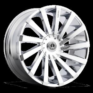Luxxx Wheels Lux 13 22X8.5 Chrome