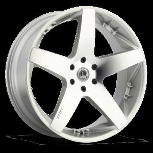Luxxx Wheels Lux 14 26X10 Silver Machined