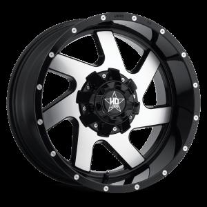 Luxxx HD 1 20X10 Black Machined