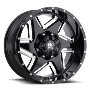 Luxxx HD 2 20X10 Black Milled