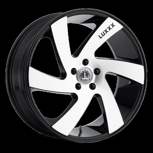 Luxxx Wheels Lux 10 20X8.5 Black Machined