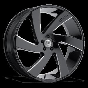Luxxx Wheels Lux 10 26X10 Black Milled