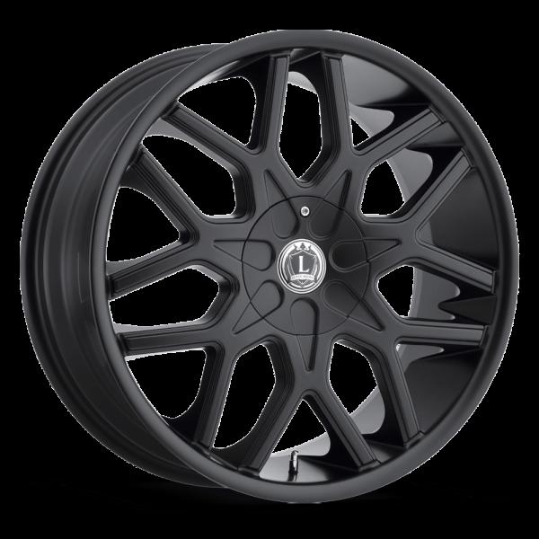 Luxxx Wheels Lux 7 20X8.5 Matte Black
