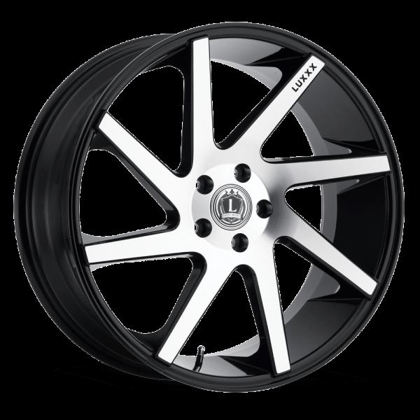 Luxxx Wheels Lux 8 20X8.5 Black Machined