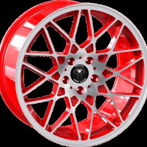 Venom 26 17X7.5 Neon Red
