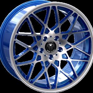 Venom 26 17X7.5 Neon Blue