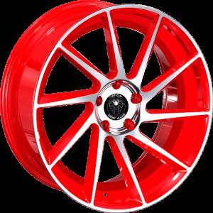 Venom 63 17X7.5 Neon Red