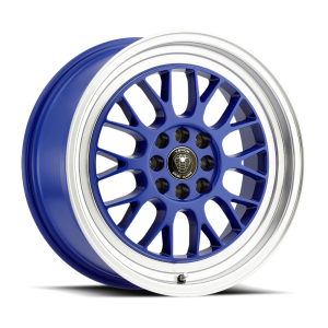 Venom 19 17X7.5 Blue with Machined Lip