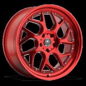 Venom 33 18X8.5 Neon Red