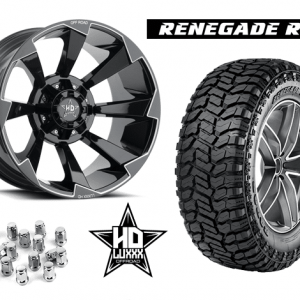 "Build 20"" Luxxx Off-Road Wheels RENEGADE R/T Package and Save!"
