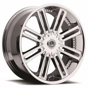 Luxxx Wheels Lux 1 26X9.5 Chrome