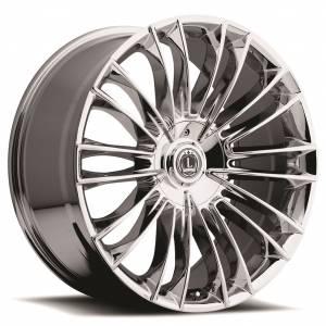 Luxxx Wheels Lux 3 22X8.5 Chrome