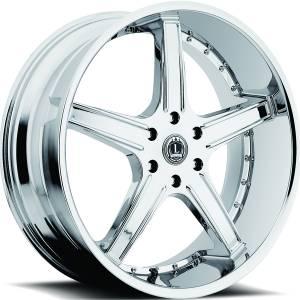 Luxxx Wheels Lux 6 22X8.5 Chrome