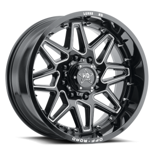 Luxxx Off-Road LHD17 20X9 Gloss Black Milled