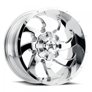 Luxxx Off-Road LHD12 24X14 Chrome