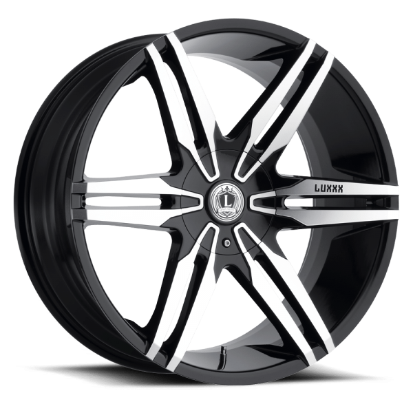 Luxxx Wheels Lux 16 20X8.5 Gloss Black Machined Face