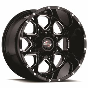 Scorpion SC10 20X9 Black Milled