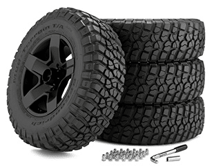 """Build 20"""" Off-Road Wheels Package and Save!"""