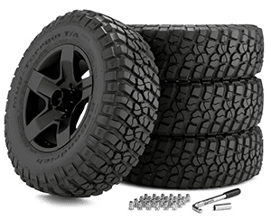"Build 22"" Off-Road Wheels Package and Save!"