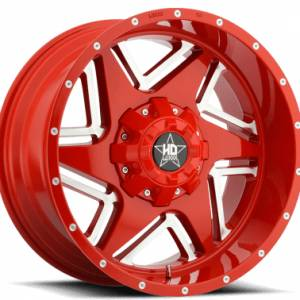 Luxxx HD 2 20X10 Metallic Red