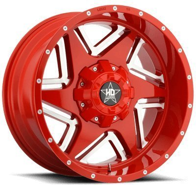Luxxx HD 2 20X10 Metallic Red