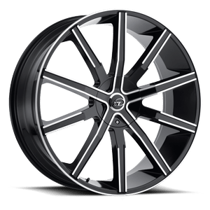 VCT V80 20X8.5 Black Machined
