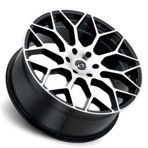 VCT V82 20X8.5 Black Machined