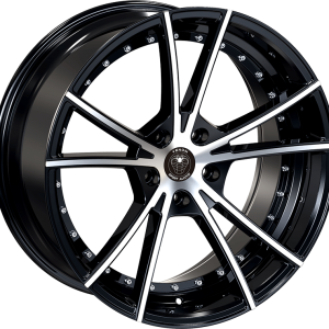 Venom 34 18X8.5 Black Machined