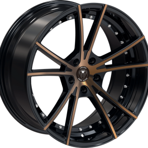 Venom 34 18X8.5 Black Machined Bronze